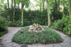 Grab von Richard und Cosima Wagner, Park Villa Wahnfried in Bayreuth